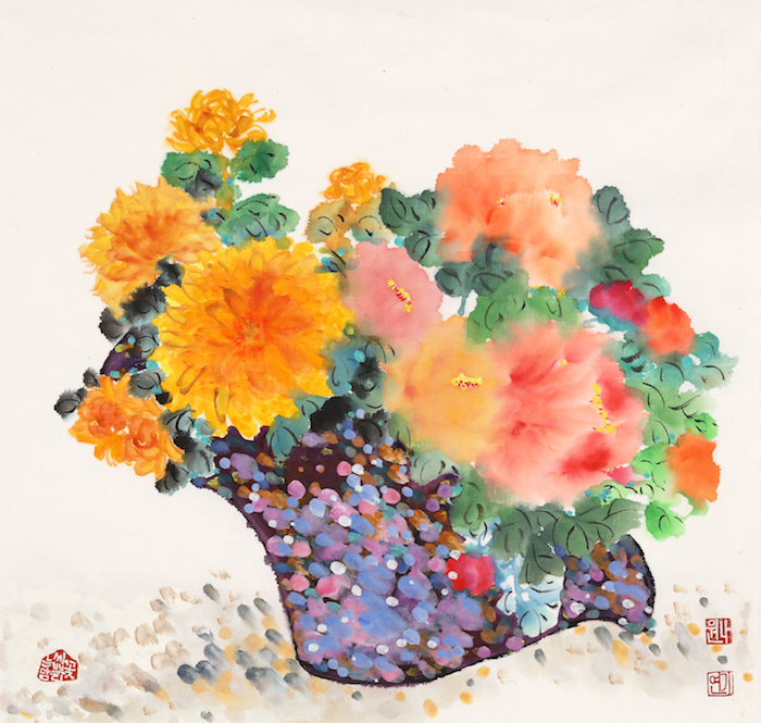 Artwork 'Love Blossom' by Nawon Lee