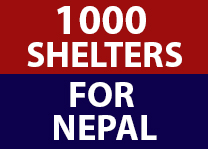 Shelter of Hope campaign for nepal earthquake, global peace foundation