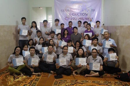 Cambodia GPY group photo