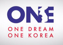 1dream1korea button, global peace foundation