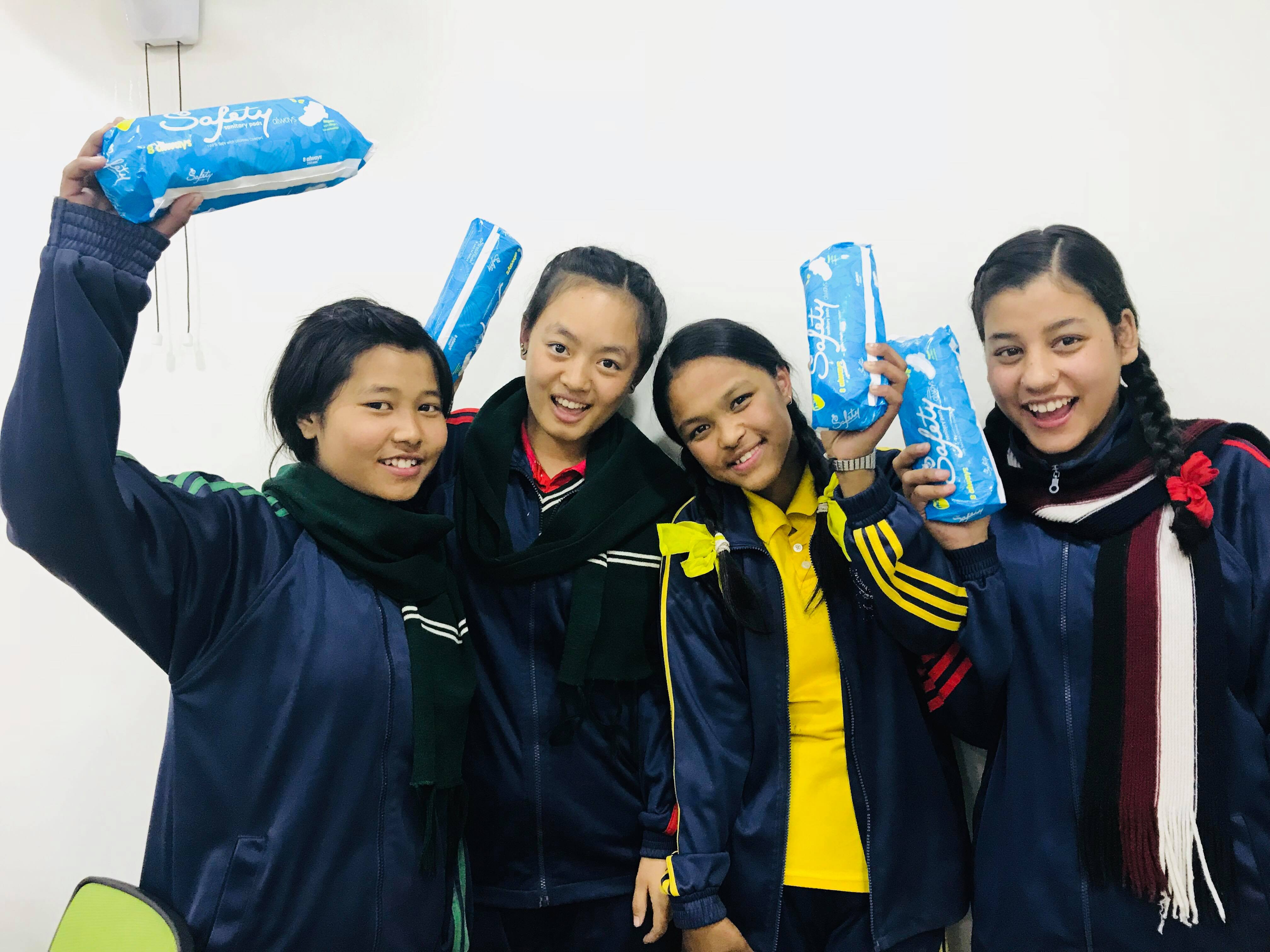 Nepalese students participate in women's health and leadership workshop