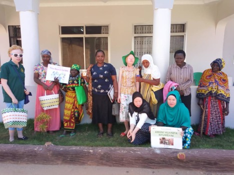 Women with disabilities rejoin the workforce in Tanzania