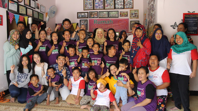 Indonesia Peace Project group picture in Bandung
