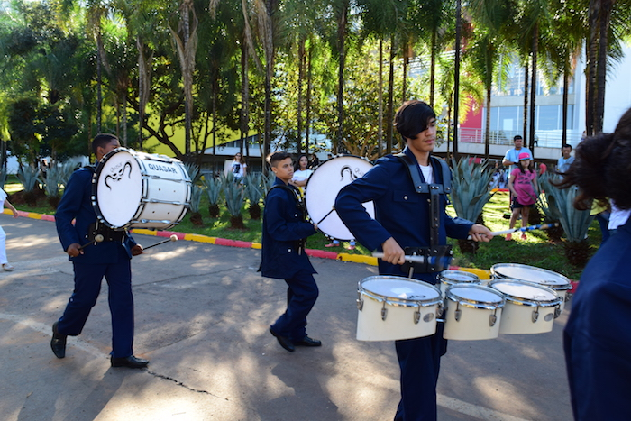 Brazil youth band participate in GPF festival