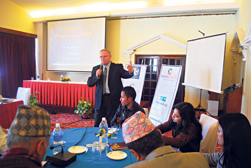 Character and Creativity Initiative Introduced to Nepali