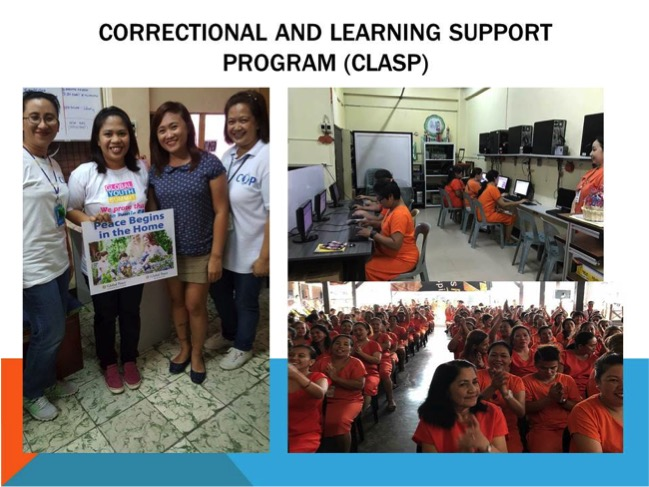 Women inmates participate in CLASP project