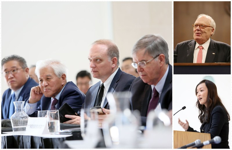 Experts convene at the Ronald Reagan building for One Korea Forum in DC