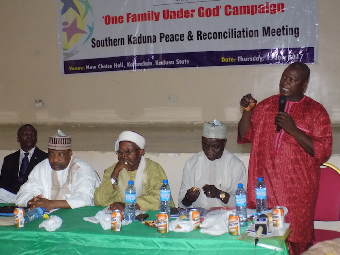 Faith leaders gather for Kaduna Peace Meeting