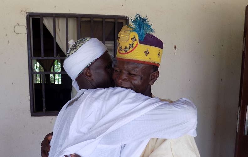 District Heads of Dangoma and Ambam