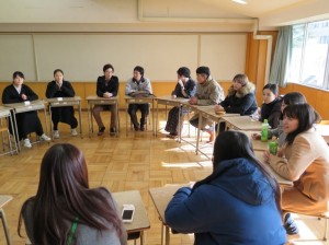 Round table discussion during Educational Forum at Touhokuajia.