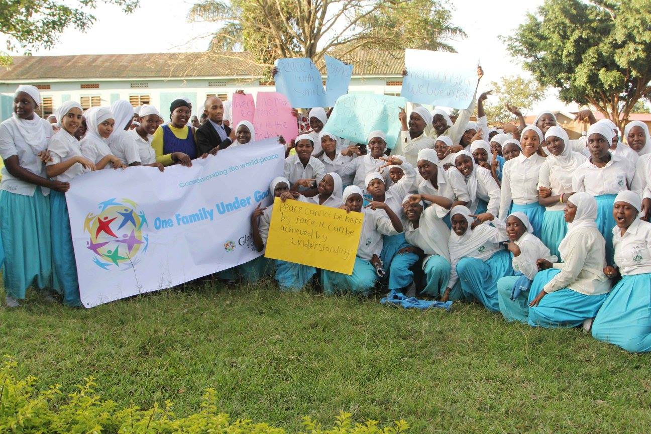 CCI Uganda schools celebrate International Day of Peace with GPF