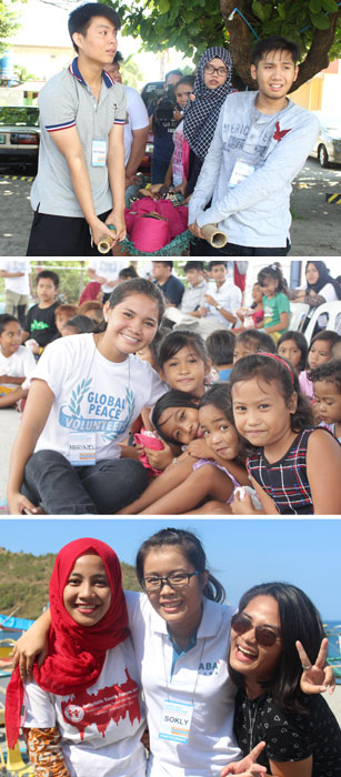 Global Peace Volunteers Camp 2016, Global Peace Foundation Philippines