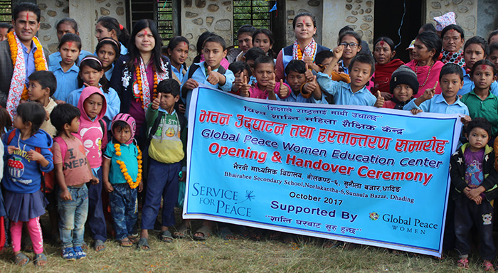 Local residents celebrate opening of the GPW Education Center