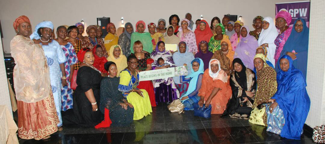 GPW Nigeria advocacy meeting group photo