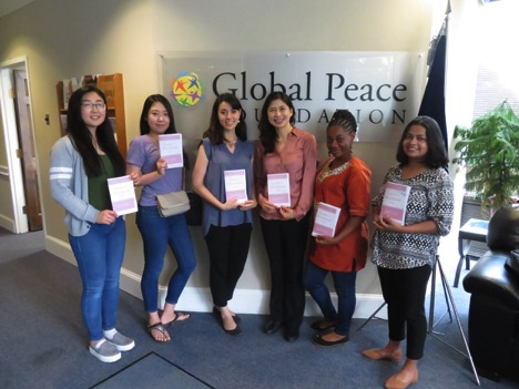 GPWLA at the Global Peace Foundation headquarters in Washington D.C.