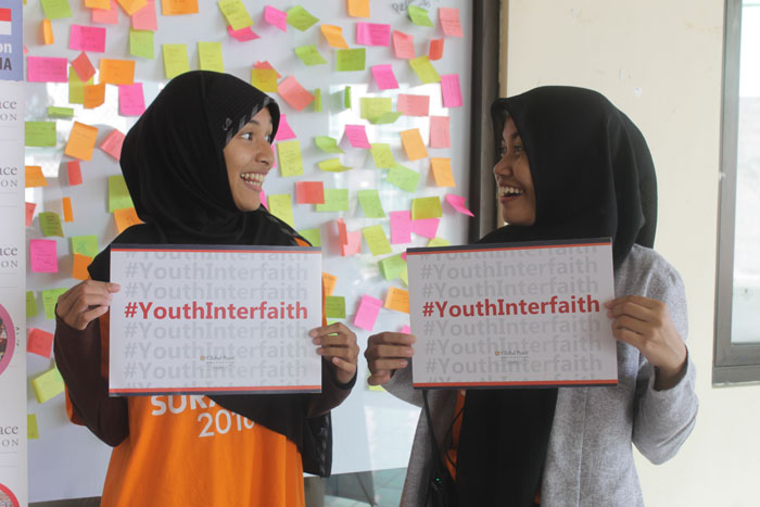 Global Peace Youth Interfaith Assembly in Indonesia 2016