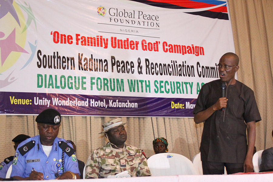 Solomon Musa, President of SOKAPU and Chairman of the Southern Kaduna Peace and Reconciliation Committee