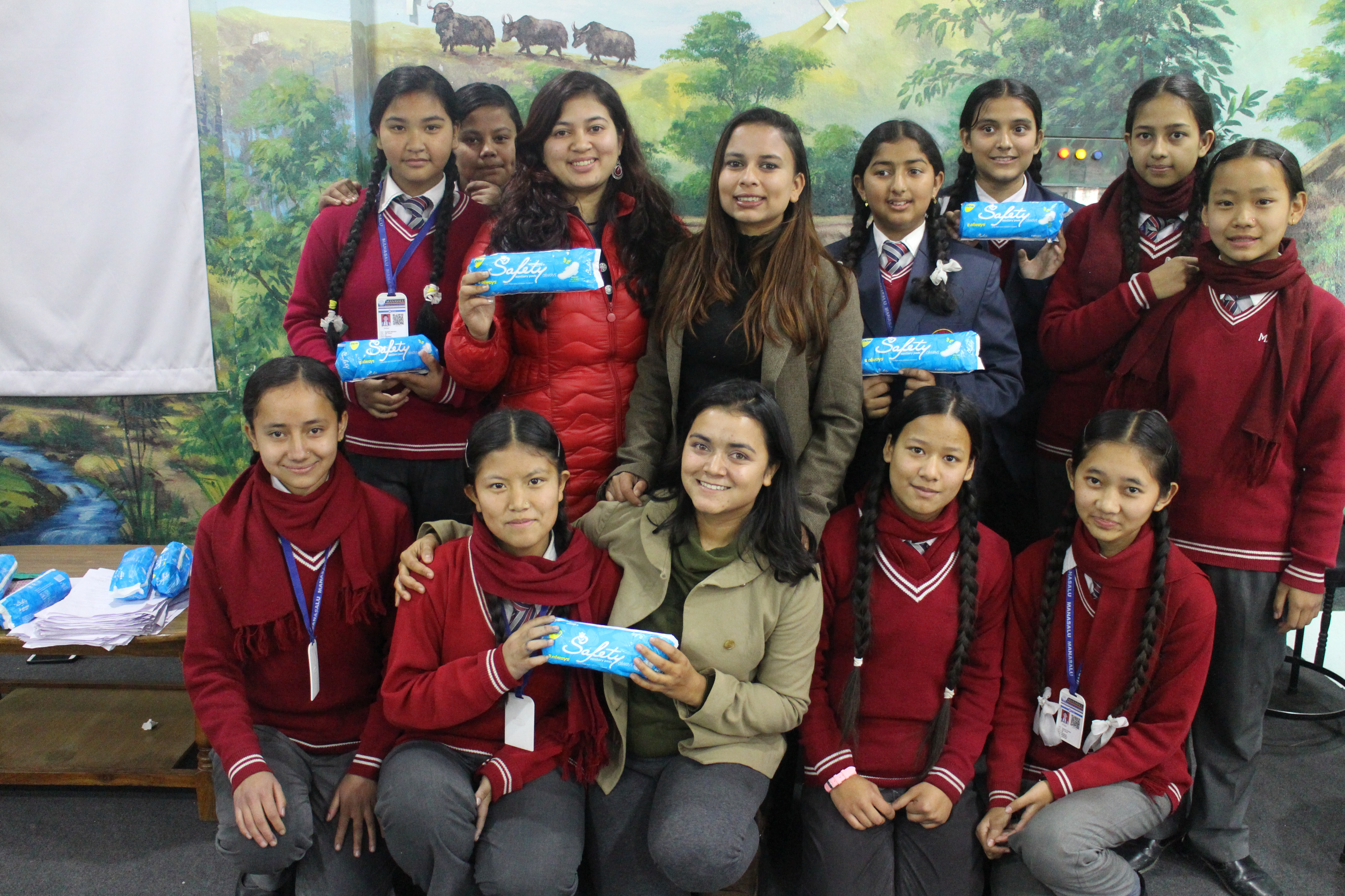 Deepa creates leadership workshops for students across Nepal