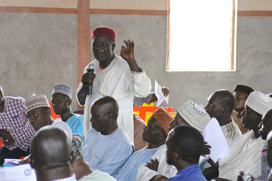 Leaders meet for the OFUG campaign in Kaduna state