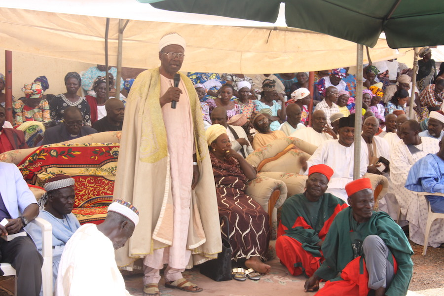 Paramount Ruler of Jaba Chiefdom, His Royal Highness, Dr. Danladi Gyet Maude