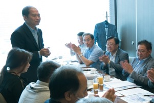 IRI and GPF leaders meet in a forum on Korean reunification