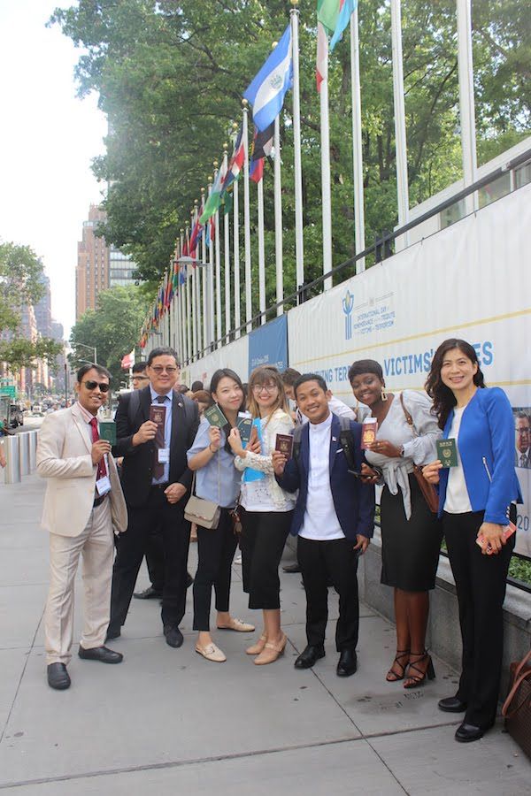 IYLA delegates await the Global Youth Summit at the United Nations