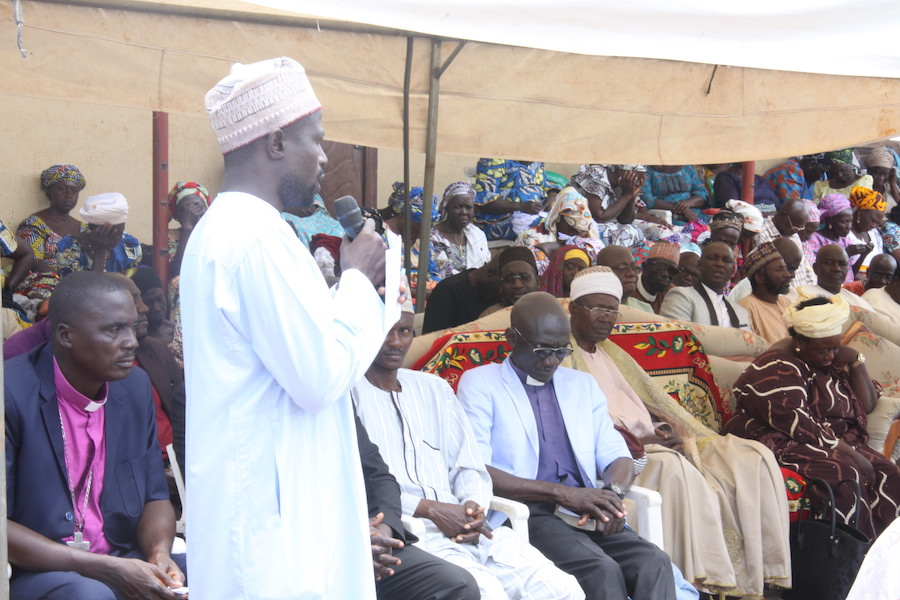 Jaba Chiefdom leaders gather in an interfaith convening