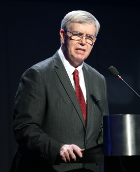 International President Jim Flynn