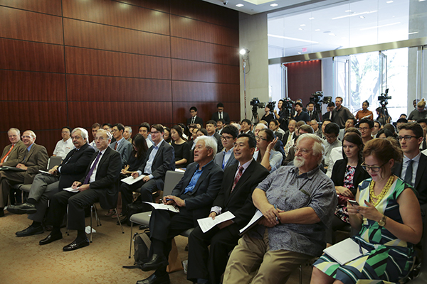 Global Peace Foundation and CSIS event on Japan and South Korea audience