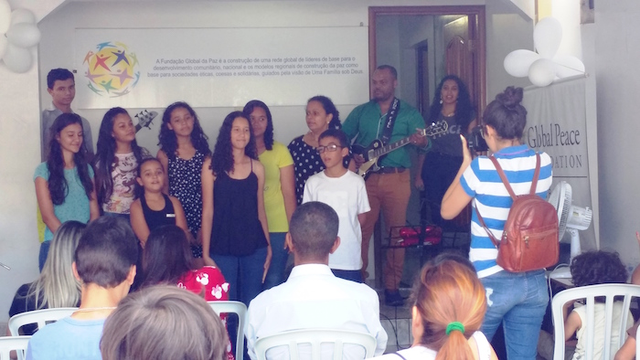 LEAM choir performs during Family Day