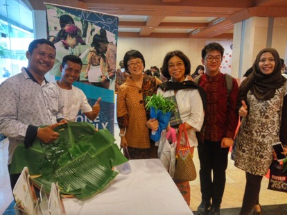 Life Park at Rusunawa social entreprenuership exhibition