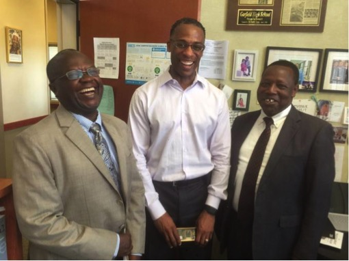 Kenya Ministry of Education with Garfield Principal