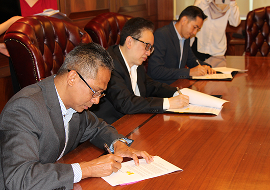 YTL, GPF, AIM executives sign partnership agreement for CUP