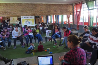 Maria Ceballos presents helpful strategies for young mothers