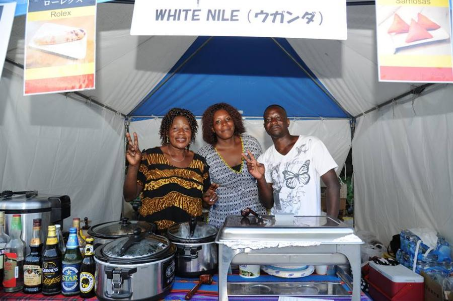 Multicultural Festival Japan white nile food booth