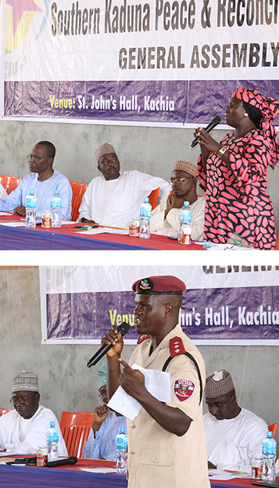 Local leaders speak at Southern Kaduna committee meeting