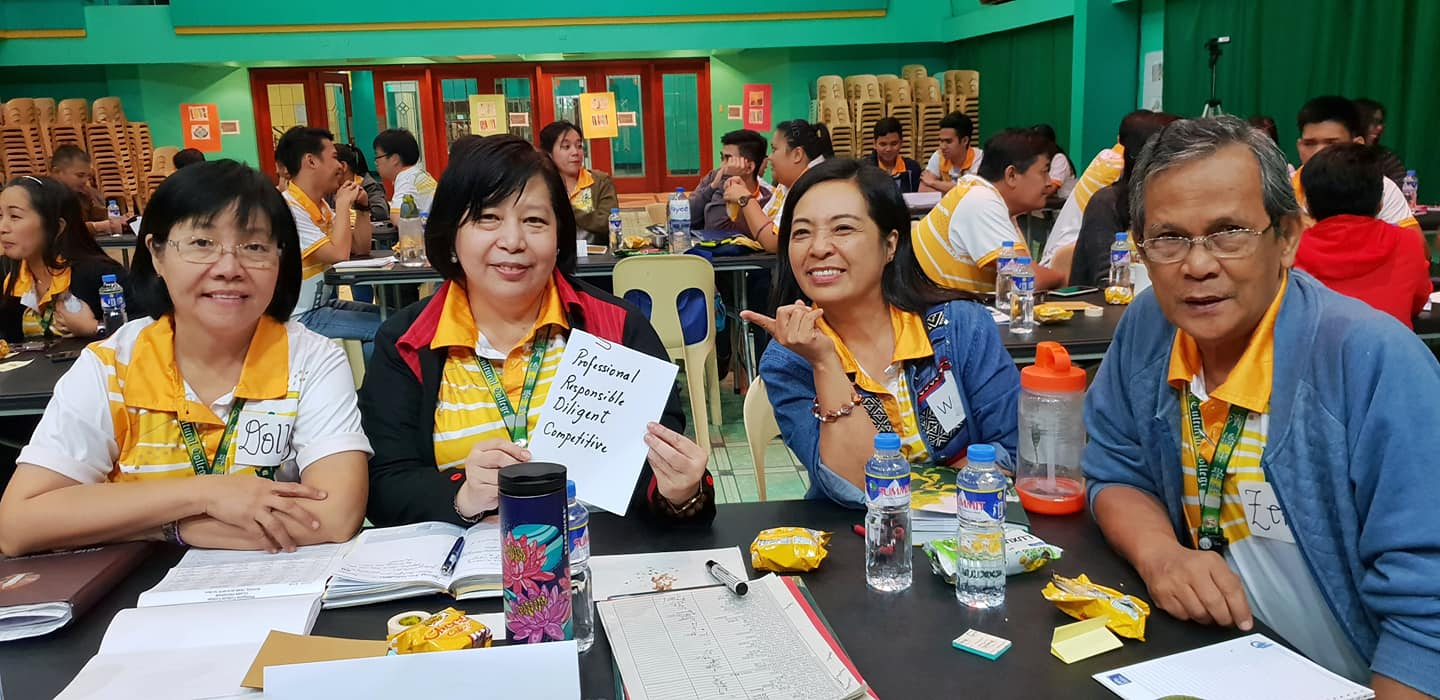 Teachers at the CCI seminar in the Philippines