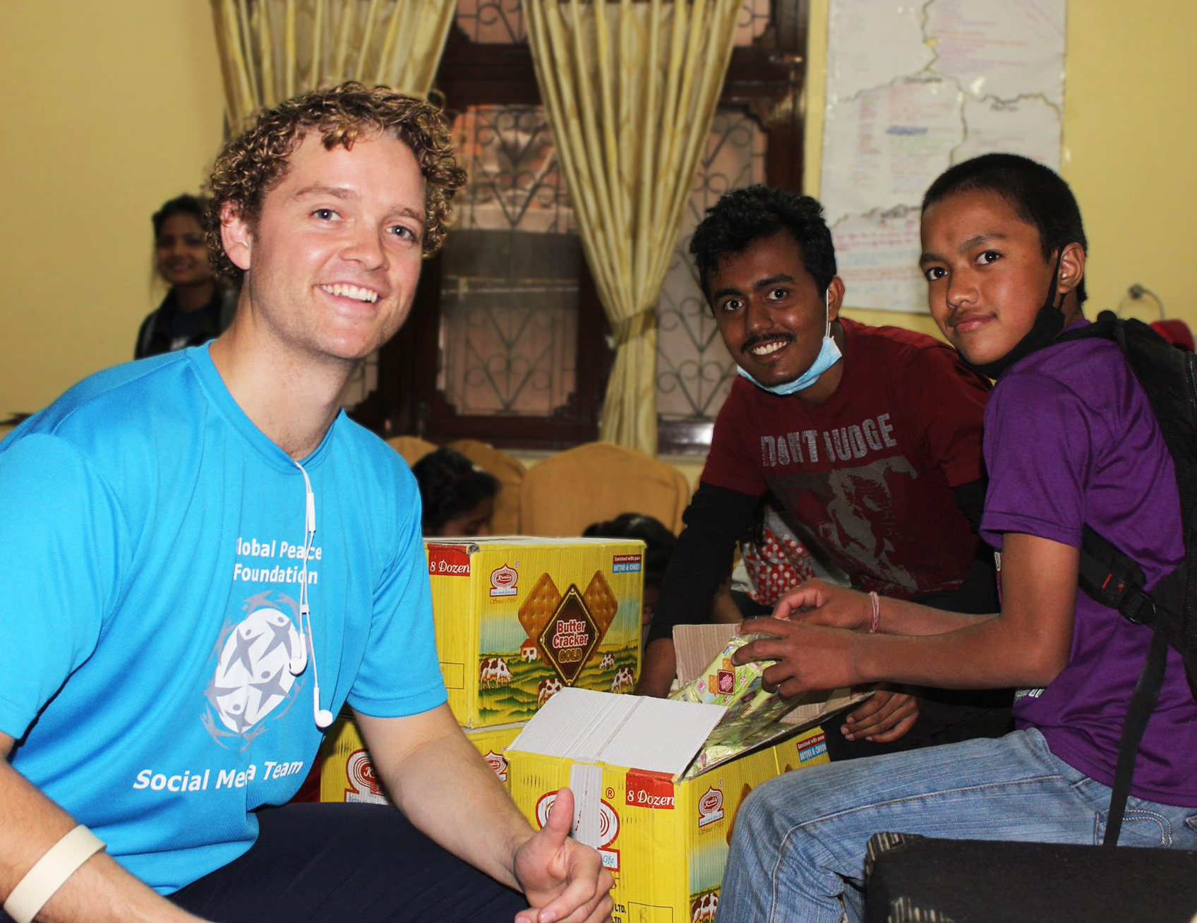 Founder of the Student Volunteer Army from Christchurch, NZ and member of the Asia Pacific Peace and Development Service Alliance  brings his years experience coordinating student volunteer efforts for disaster relief