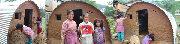 Global Peace Foundation program RiseNepal help Roshani and her family.
