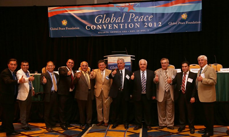Global Peace Business Forum prior to the Global Peace Convention 2012 in Atlanta.
