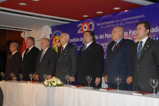 Paraguay's leaders were invited to the national unity bicentennial celebration by the IDPPS.