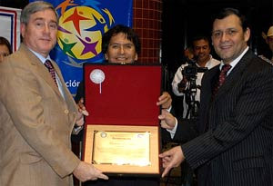 GPF received a special award from the National Congress for activities in character education and social service.
