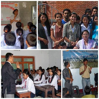 GPYC Nepal, organized a 3-day workshop in different schools and colleges in rural areas of Nepal.