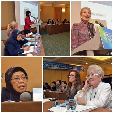 """The Forum """"Women's Leadership: Human Rights and Peacebuilding,"""" drew scholars and advocates from Korea, Malaysia, and the Netherlands and the United Staes, at the GPC 2011 Seoul, Korea."""