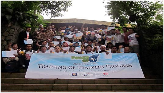 Teacher participants of the training program sought to practice living for the sake of others.