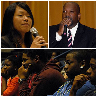 Amy Phuong, Dr. Michael McKnight, Martin Luther King, Jr. Middle School