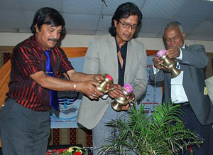 Special guests at the opening ceremony of the Nepal Water Expo 2012