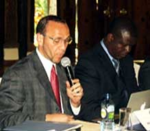 Rev. Paul Murray, GPF's Director of Interfaith Partnerships, was the facilitator of the first National Faith Leaders Meeting in Nairobi 2012.