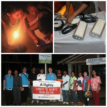 Global Peace Foundation Korea, Alllights Village Project, Nueva Ecija, Philippines