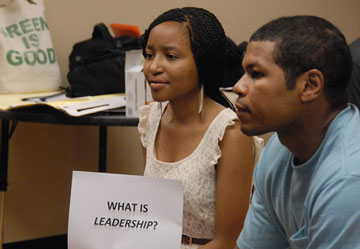 """GPF's pilot program, """"Leadership Academy: Inroads for Success,"""" was released by Dr. Travis Patton, Program DIrector of the Morehouse Research Institute."""
